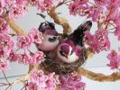 Мастер класс | Сакура из бисера | Дерево с птицами