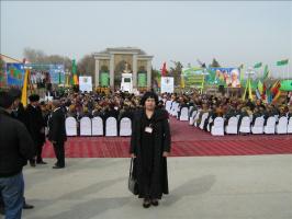 Праздник Андалиба в Туркменистане.  Ленара (Киргизия) в селе Гарамазы, на родине Андалиба