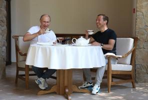 Медведев и ПУТИН 4