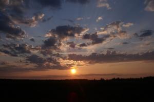 июльский закат