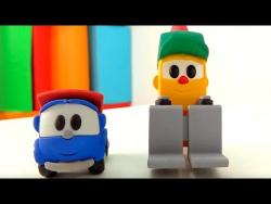 Грузовичок Лева встречает друзей! Знакомство с друзьями машинками. Развивающее видео для детей