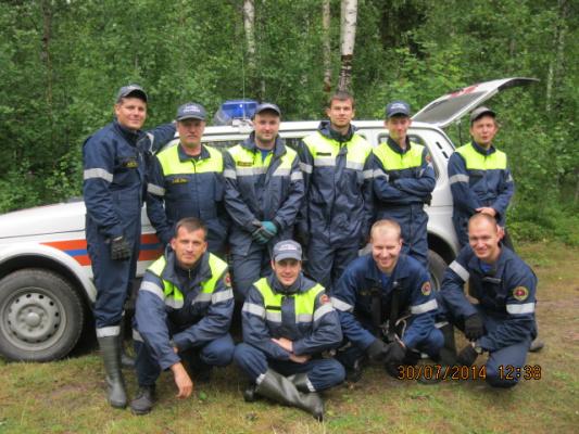 спасатели на УТЗ